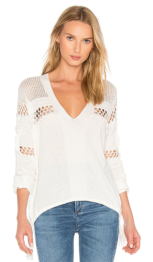 Wildfox Couture Sold Sweater in White