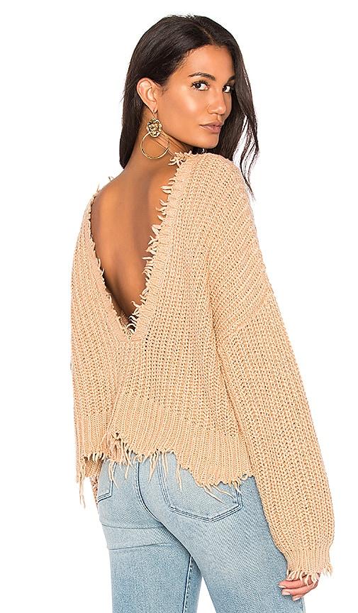 Wildfox Couture Palmetto Sweater in Tan