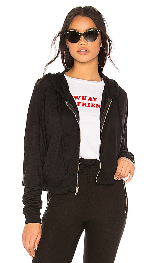 Wildfox Couture Solid Sweatshirt in Black