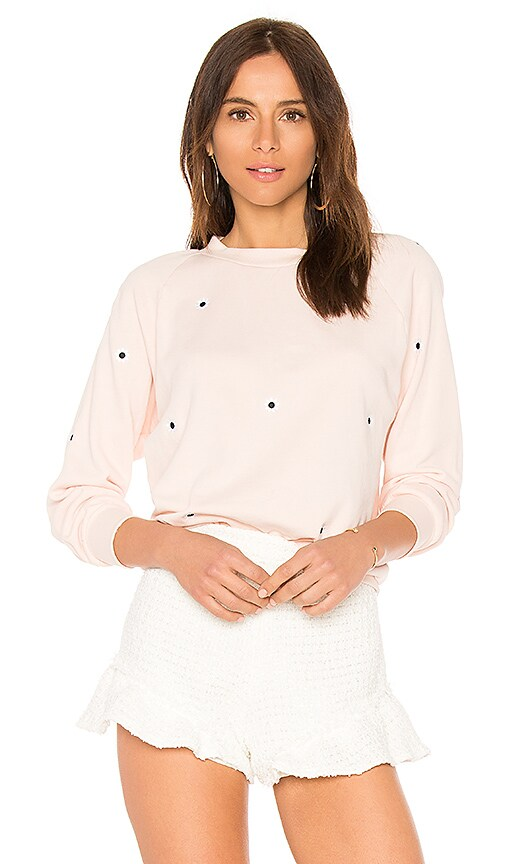 Wildfox Couture Allover Mod Daisies Sweatshirt in Pink