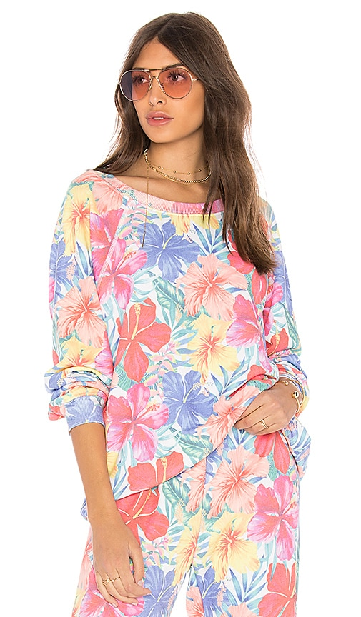 Wildfox Couture Tropicalia Sommers Sweater in Pink