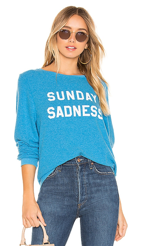 Sunday Sadness Baggy Beach Sweatshirt