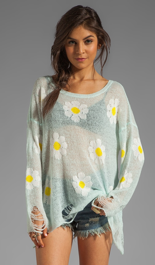 White Label Daisy Fest Lennon Sweater