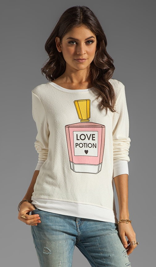 EXCLUSIVE Pink Potion Baggy Beach Jumper