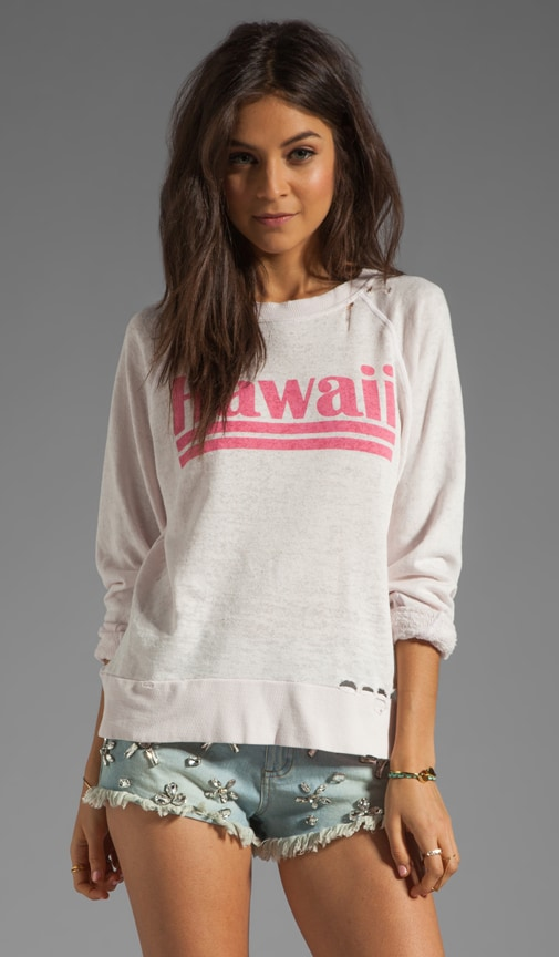 Hawaiian Dream Destroyed Sweater