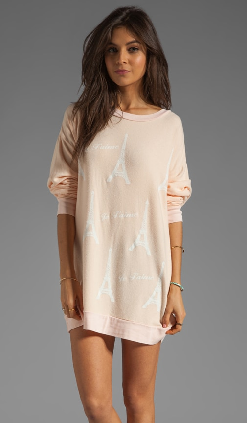 Paris Je T'aime Roadtrip Tunic