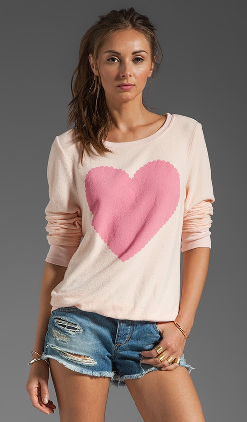 Love Note Baggy Beach Jumper