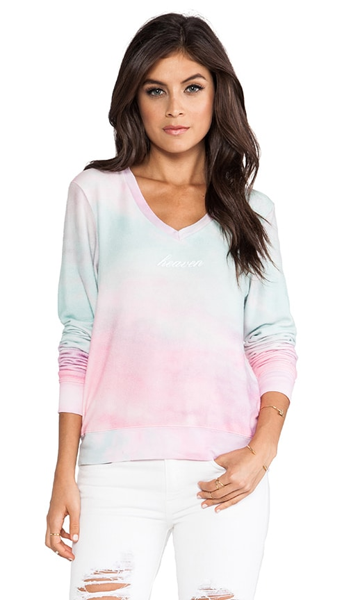 Heaven Clouds Baggy Beach V Neck