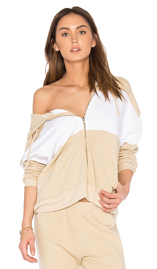 Wildfox Couture Basics Hoodie in Beige