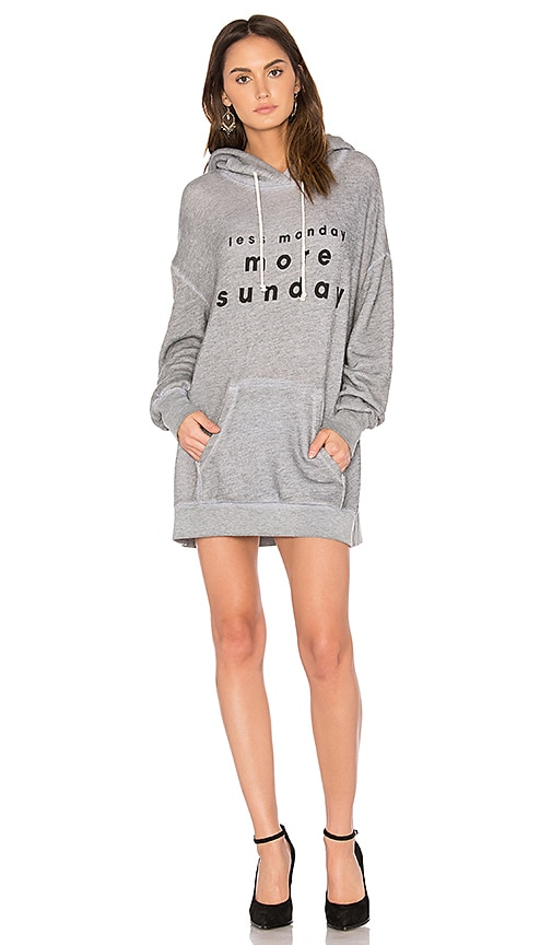 Wildfox Couture 3 Day Weekend Hoodie in Gray