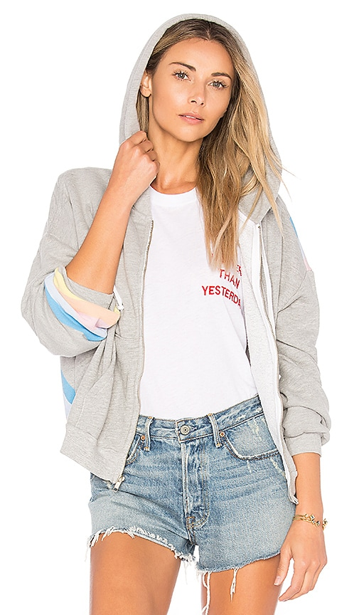 Wildfox Couture Spectrum Hoodie in Gray