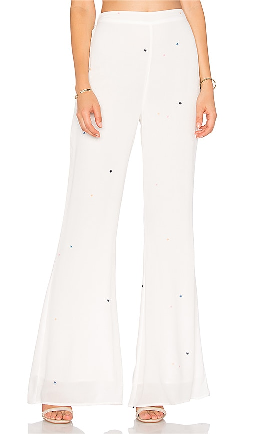 Wildfox Couture Starlet Pant in White