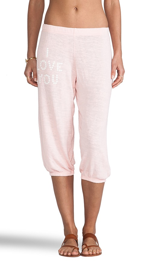 Little Heart Spell Cropped Sweats