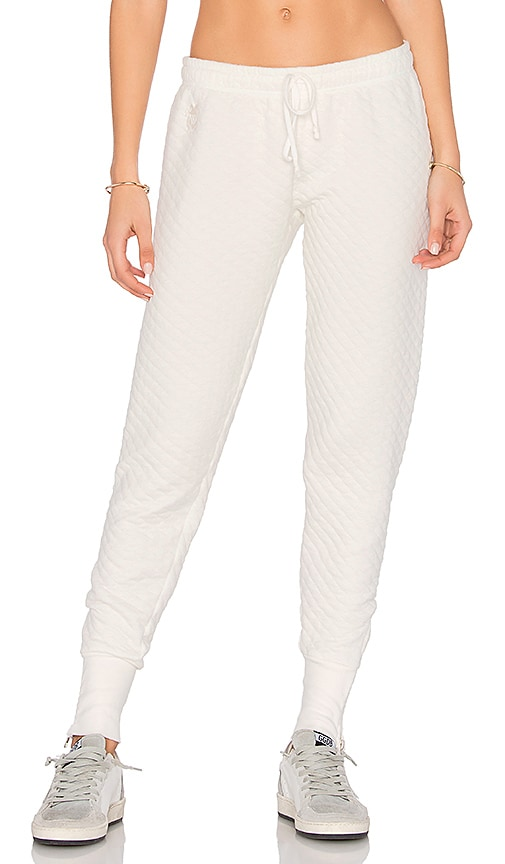 Wildfox Couture Jogger in White