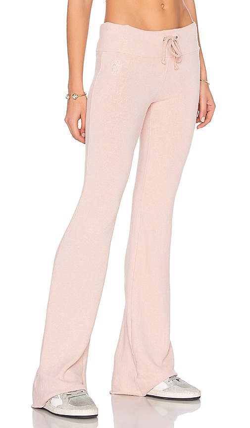 Wildfox Couture Flare Pant in Pink