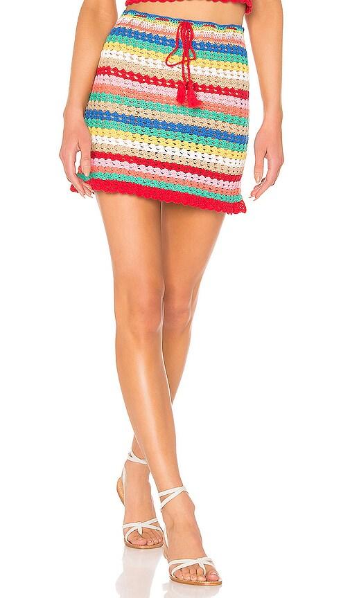 Vibrant Glow Stassi Skirt