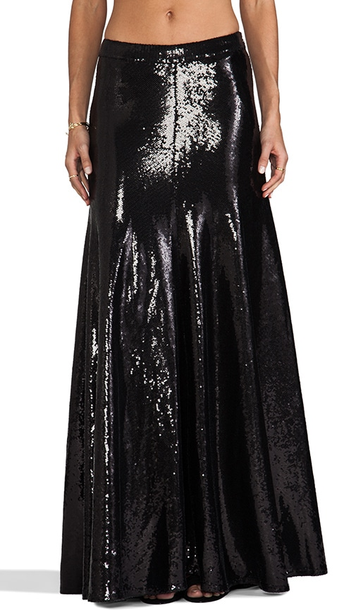 Cecilia Sequin Maxi Skirt