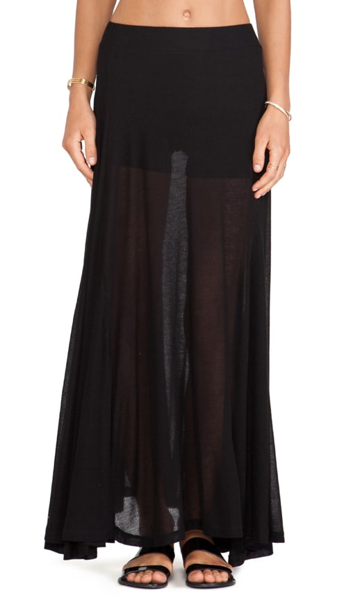 Scripted Maxi Skirt