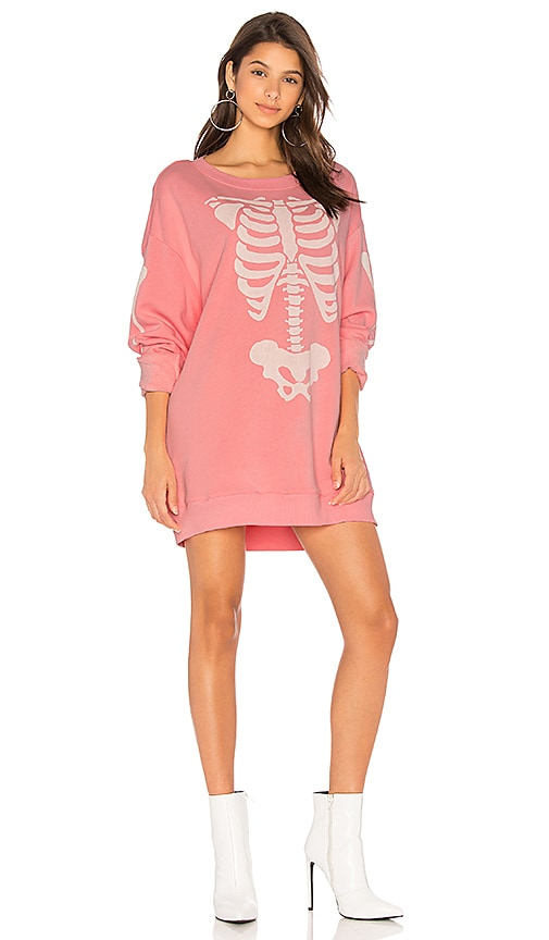 Wildfox Couture X-Ray Vision Tee in Pink