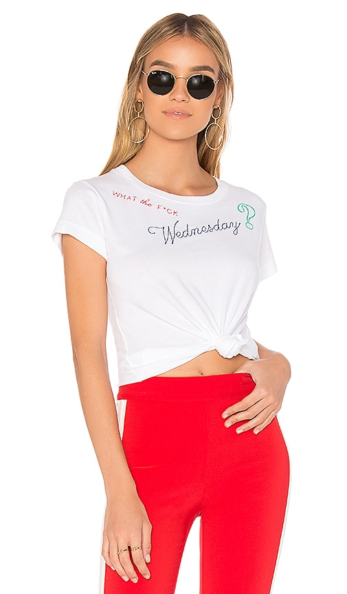 Wildfox Couture Wednesday Tee in White