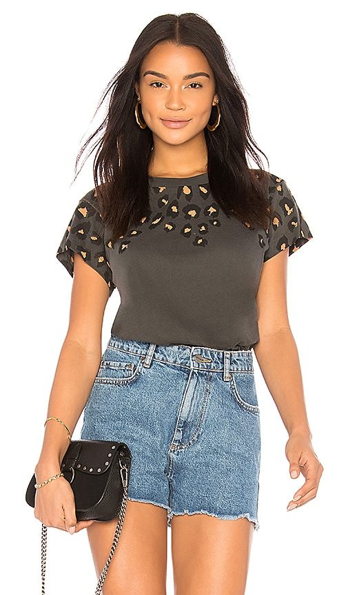 Wildfox Couture Animal Instinct Top in Black