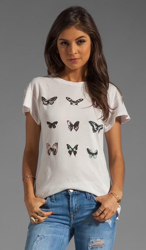 Warhol Butterflies Desert Crewneck