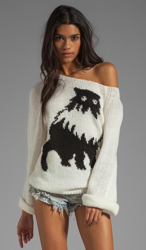 White Label Fat Cat Pullover
