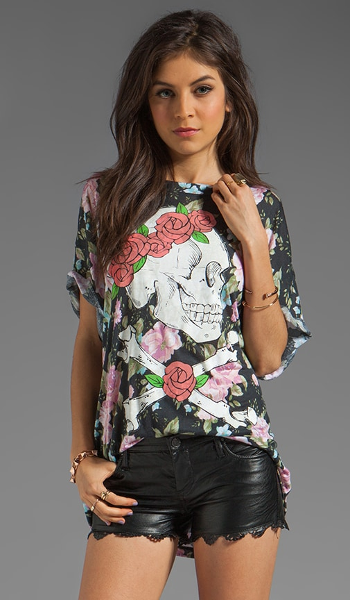 Donovan Floral Graphic Tee