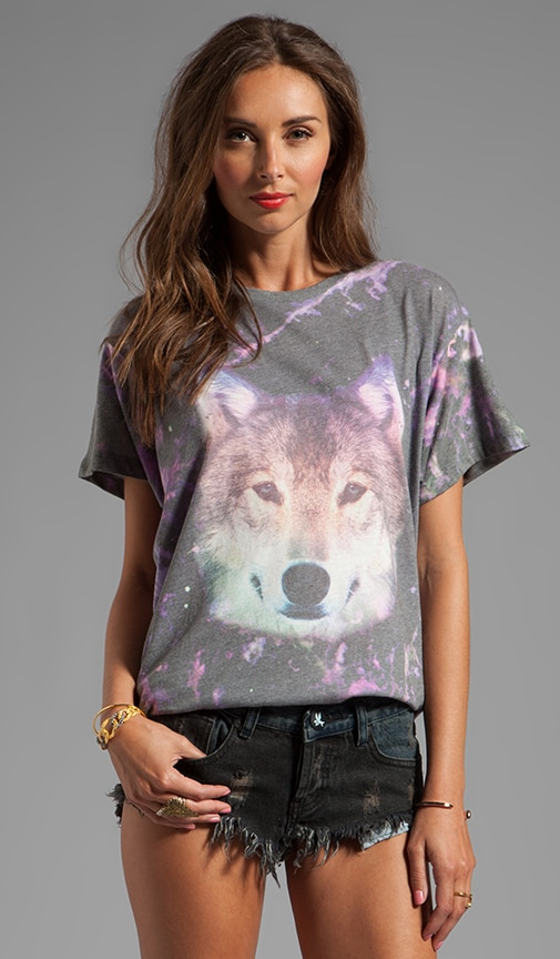 Night Wolf Oversized Tee