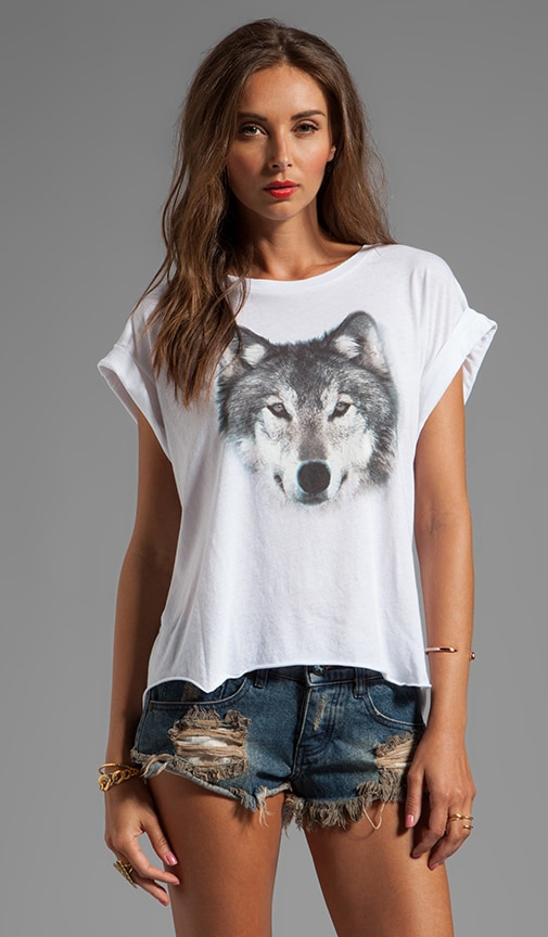 Grey Wolf Jagged Edge Tee