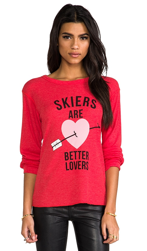 Skiers Are Better Lovers Thermal Long Sleeve