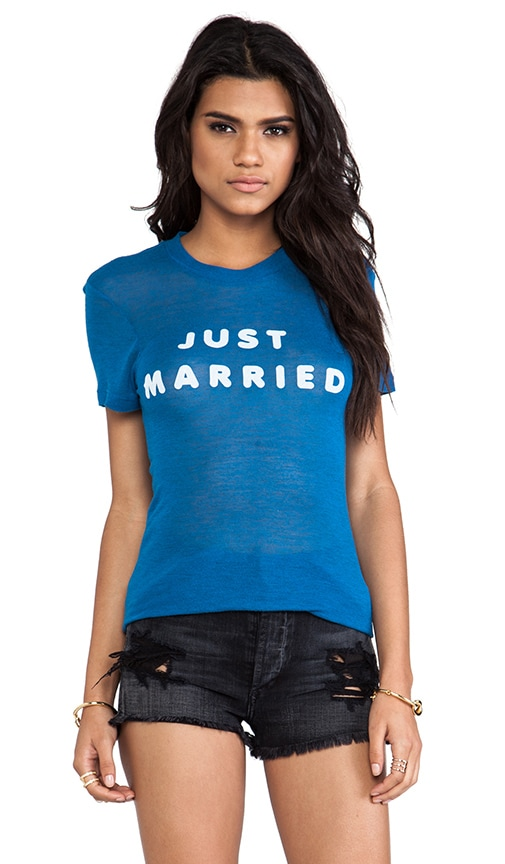 Just Married Tee