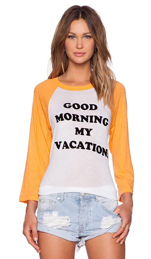 Good Morning Vacation Tee