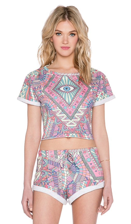 Third Eye Venice Crop Top