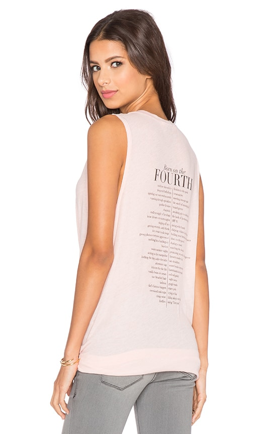 Wildfox Couture 4th List Tank in Barefoot