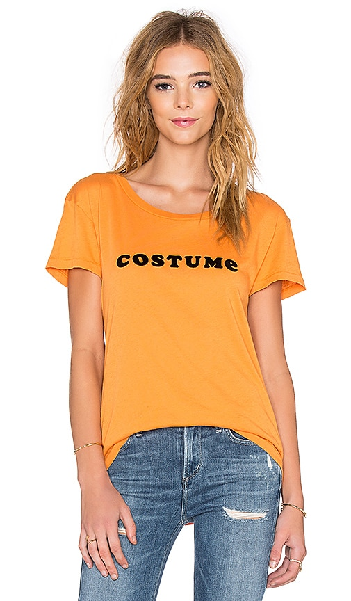 Wildfox Couture Easy Costume Tee in Pumpkin