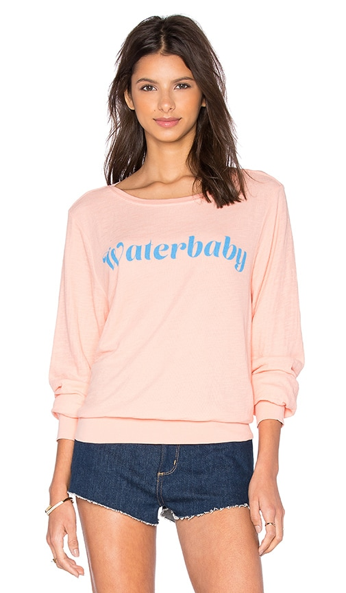Wildfox Couture Waterbaby Tee in Coral