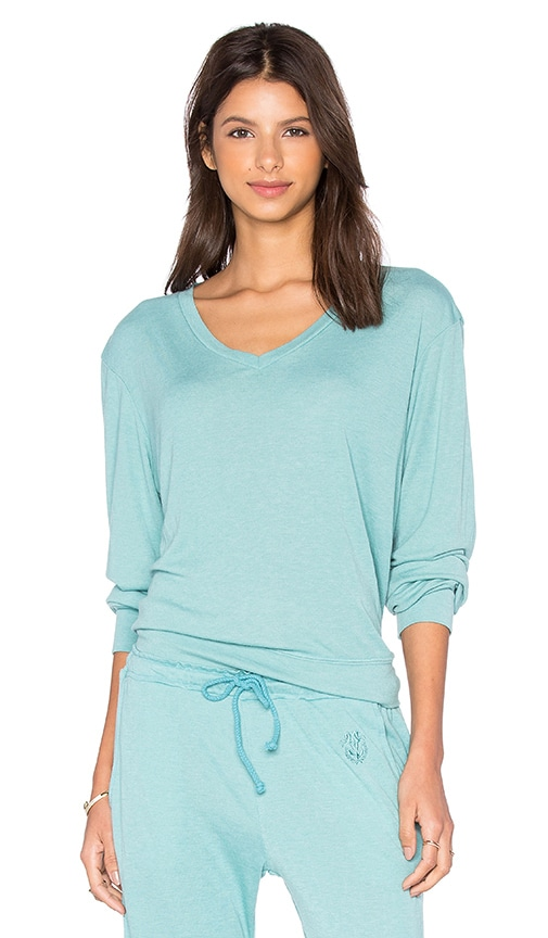 Wildfox Couture Basics Top in Blue