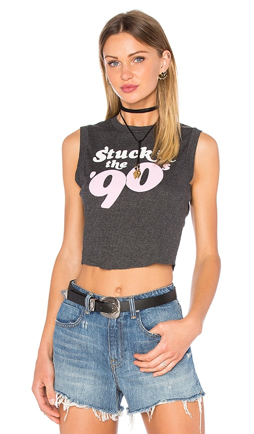 Wildfox Couture 90's Funk Tank in Clean Black