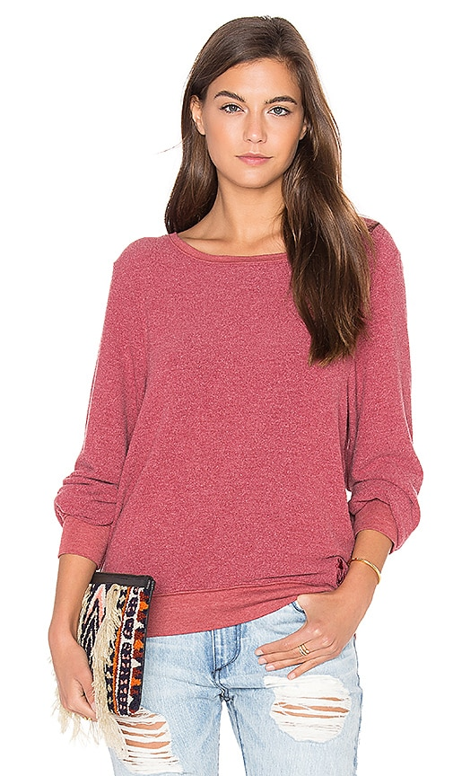 Wildfox Couture Basic Top in Red
