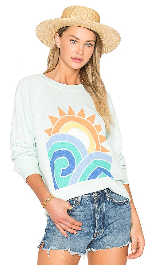 Wildfox Couture Sun and Surf Top in Mint
