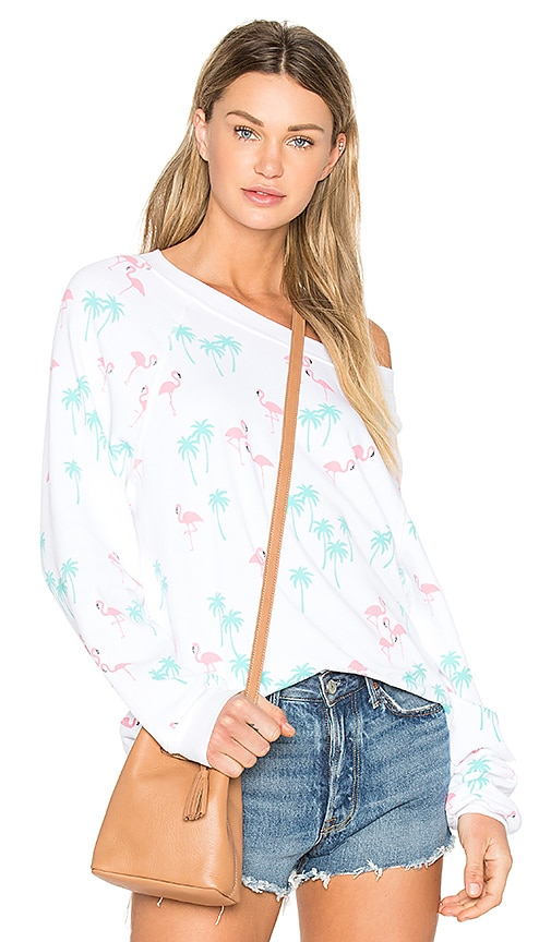 Wildfox Couture Everglades Top in White