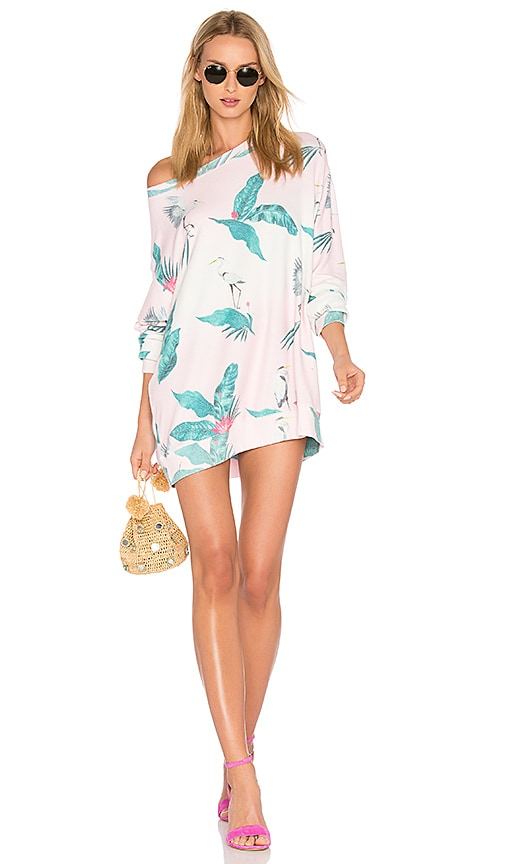 Wildfox Couture Hot Tropics Top in Pink