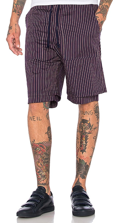 Wil Fry Double Layer Short in Navy