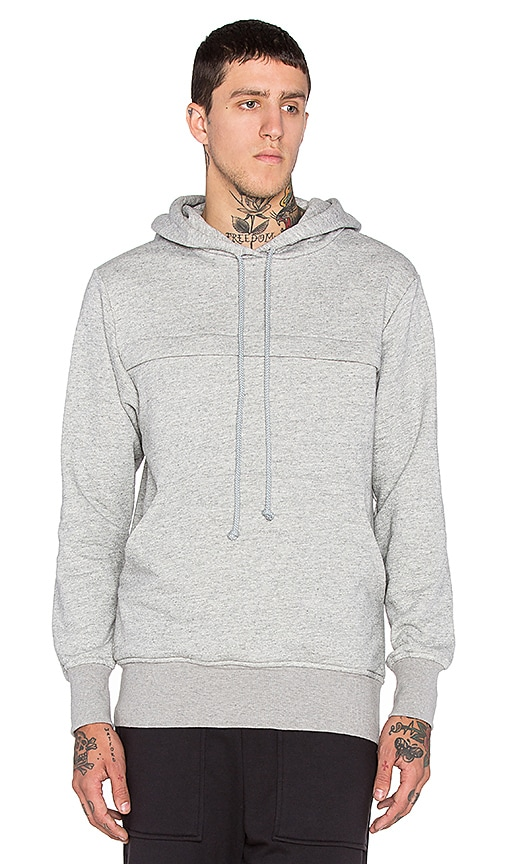 Wil Fry Pouched Hoodie in Heather