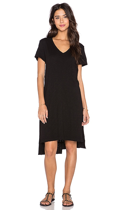 Wilt Shifted Tee Dress in Black