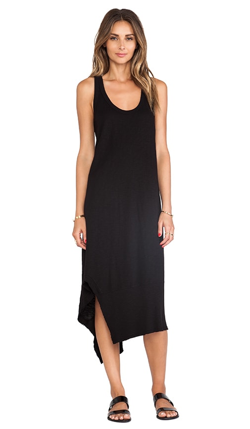 Slub Mix Tank Dress