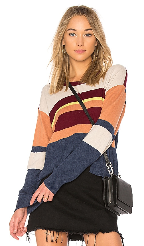Wilt Slouchy Shifted Sweater in Blue