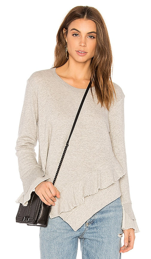 Wilt Slouchy Sweatshirt in Gray