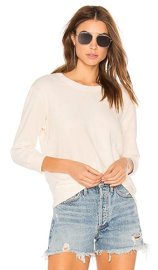 Wilt Crop Sweatshirt in White